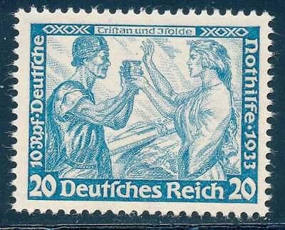 D.Reich Nr. 505 B ungebraucht / *, 20 Pf. Wagnersatz (40940)