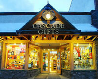 Full time Sales Rep. required for Gift store in Banff, Now
