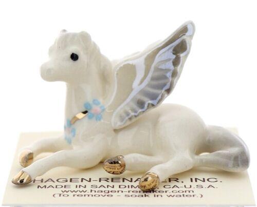 Hagen-Renaker Miniature Ceramic Figurine Regasus Lying