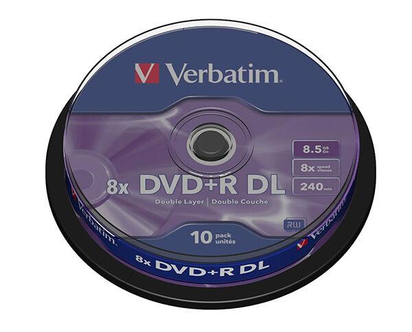 Verbatim DVD+R Dual Layer Discs