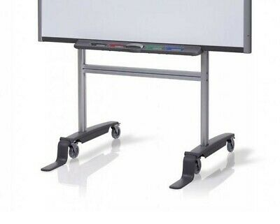 Smart Fs-sb Mobile Floor Stand 77 To 87 Smart Board Whiteboards