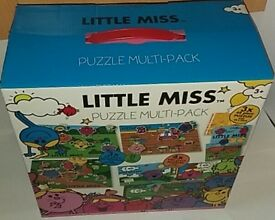 Little Miss Brand New UNUSED jigsaw pack - 10 puzzles Age 3+
