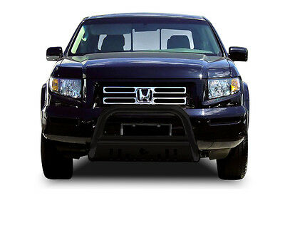06-14 Ridgeline/03-08 Pilot/02-06 MDX Black Bull Bar Skid Plate by Black Horse