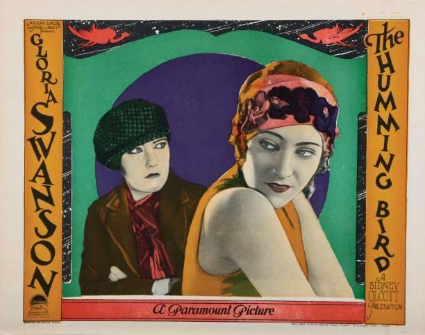 OLD MOVIE PHOTO The Humming Bird Lobby Card Gloria Swanson 1924
