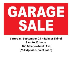 Garage Sale - Multi Family