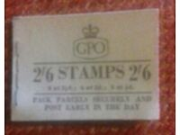 Gpo 2'6 stamps