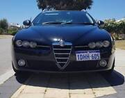 2008 Alfa Romeo 159 black turbo diesel wagon Ellenbrook Swan Area Preview