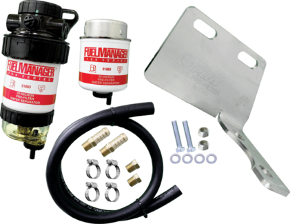 Diesel fuel filter kits.