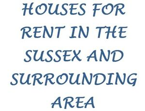 Houses for Rent in the Sussex Area