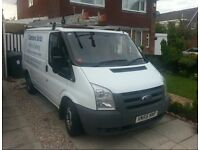 Ford Transit window cleaning van