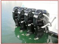 Outboard boat engines 2hp-300hp £££