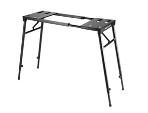 Adjustable piano/keyboard stand/table