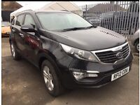 2012 kia sportage 2.0 crd 4x4 rare car rare spec fully loaded like new only 41k dn wowzer