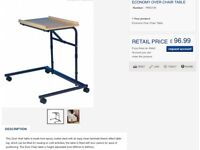 Able2 dining table/reading table for elderly or infirmed