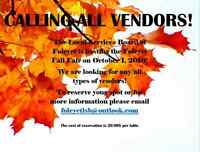 Foleyet Craft Show- Vendors Wanted