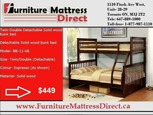 ▉ HUGE SALE ▉ BUNK BED AND SOFAS AND SECTIONAL ▉LOWEST PRICES ▉*