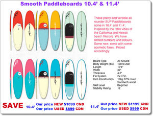 Stand Up Paddleboards - New & Demos, great prices, great quality