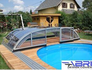Abri de piscine rétratable, STOP les insectes et les feuilles!