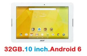 "10"" TABLETTE 32GB Android 6 Acer Iconia One 10 / WiFi/ Bluetooth"