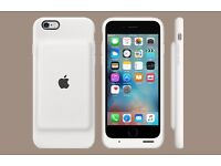 APPLE IPHONE 6 AND 6S SMART BATTERY CASE NEW WHITE
