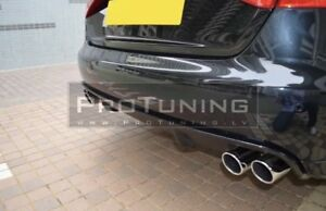 Audi A4 B8 Twin Exhaust Rear Diffuser - UNPAINTED