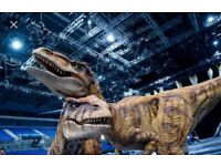 SOLD OUT Walking with Dinosaurs x 2 tickets