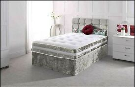 SALE! CLEARANCE EVERYTHING MUST GO! Brand new divan beds with mattress & free DELIVERY!