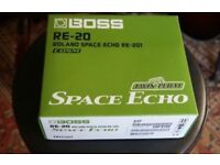 Boss RE 20 space exho