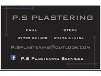 P.S Plastering