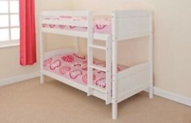 Solid White Pine Bunk Bed