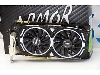 MSI GTX 1070 ARMOR 8G OC Nvidia
