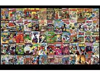 Comic book joblot wanted