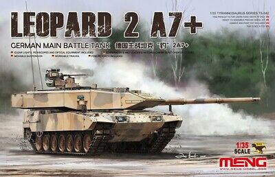 Meng Model 1/35 TS-042 German Main Battle Tank Leopard 2 A7+