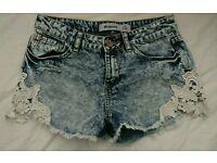 New Look Hot Pants Shorts Size 8