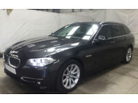 Grey BMW 530 3.0TD d Touring Auto 2015 Luxury FROM £98 PER WEEK!
