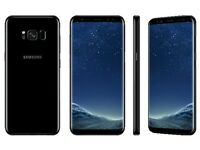 CASH FOR SAMSUNG GALAXY S8+, black, unlocked, unpacked, instant, better than CEX