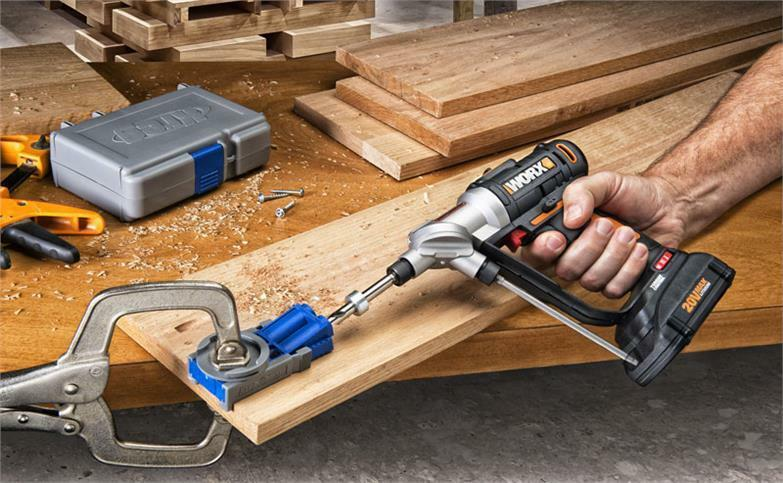 WORX WX176L Switchdriver 20V PowerShare 2in1 Cordless Drill  Driver