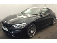 Black BMW M4 3.0 M DCT 2016 M4 FROM £190 PER WEEK!