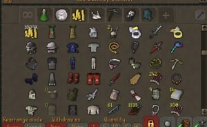 Runescape main account w/over 150m (OSRS)
