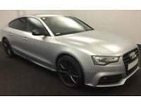 Silver AUDI A5 SALOON 1.8 2.0 TDI Diesel BLACK EDITION PLUS FROM £93 PER WEEK!