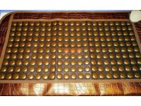 NUGA BEST Mat Massager NM80 Tourmanium NM-80 Heat Pad