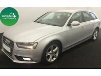£234.89 PER MONTH SILVER 2012 AUDI A4 AVANT 2.0 TDI SE ESTATE DIESEL MANUAL