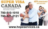 SUPER VISA-TRAVEL-VISITORS Insurance UP TO 45% DISCOUNT