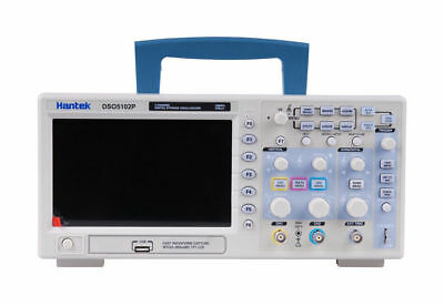 Hantek Dso5102p Usb Digital Storage Oscilloscope 2 Channels 100mhz 1gsas