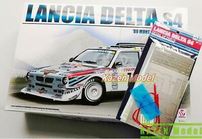 1/24 Lancia Delta S4 Monte Carlo Rally Ver.w/Upgrade Parts Aoshima Beemax Tamiya