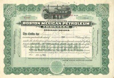 Boston Mexican Petroleum Trustees