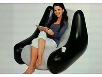 Bestway inflatable blow up waterproof gaming longe chair