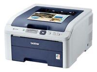 Brother HL-3040CN Color Laser Printer USB + Network Support