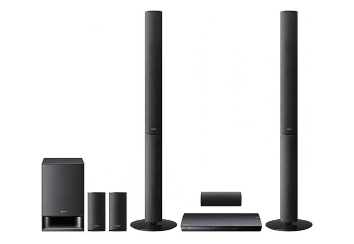 Sony 1000W 3D BDVE490 Blu-ray Home Cinema System