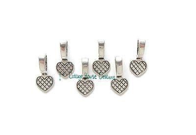 Wholesale 15//30Pcs Tibetan Silver(Lead-Free)Lock  Charms Pendant 15x5mm